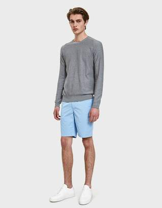 Norse Projects Aros Light Twill Shorts in Luminous Blue