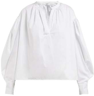 Etoile Isabel Marant Otto Cotton Poplin Shirt - Womens - White