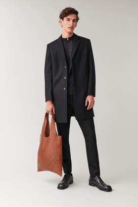 Cos CUTOUT LEATHER TOTE