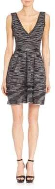 M Missoni Space-Dye V-Neck Dress