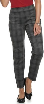 Croft & Barrow Women's Pull-On Ponte Pants
