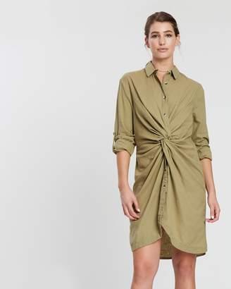 Silent Theory Twisting Shirt Dress