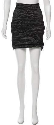 Yigal Azrouel Textured Mini Skirt