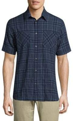 Billy Reid Clarence Plaid Shirt