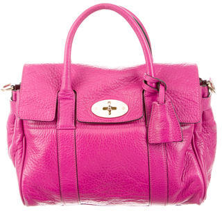 Mulberry Small Bayswater Satchel $480 thestylecure.com
