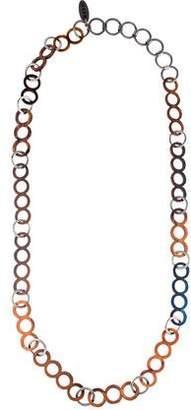 Marni Wood Chain Necklace