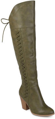 Journee Collection Women Wide Calf Spritz-p Boot Women Shoes