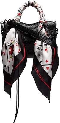 Balenciaga black Classic City mini leather shoulder bag