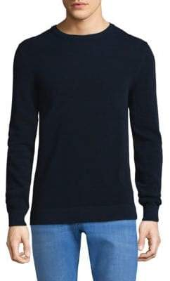Theory Crewneck Cotton Sweater
