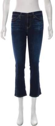 Adriano Goldschmied Jodi Crop Mid-Rise Jeans