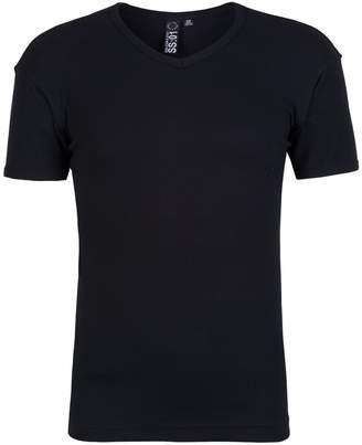 Soul Star Mens Ribbed V-Neck T-Shirt