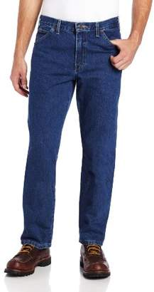 Dickies Men's Relaxed-Fit Five-Pocket Washed Jean
