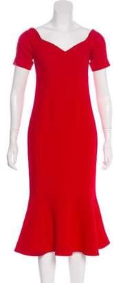 Cinq à Sept Short Sleeve Midi dress