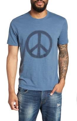 John Varvatos Peace Applique T-Shirt