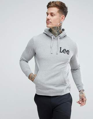 Lee Regular Fit Logo Hoody