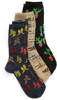 Hot Sox 3-Pack Socks