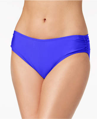 Calvin Klein Shirred Hipster Bikini Bottoms Women's Swimsuit
