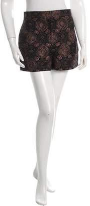 A.L.C. High-Rise Jacquard Shorts w/ Tags