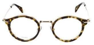 Celine Round Eyeglasses w/ Tags Beige Round Eyeglasses w/ Tags