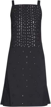 Osman Embellished square-neck dress