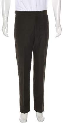 Hermes Corduroy Straight-Leg Pants