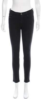 Frame Le Skinny De Jeanne Mid-Rise Pants
