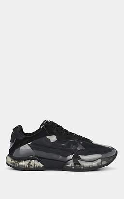 Alexander Wang Women's Stadium Suede & PVC Sneakers - Black