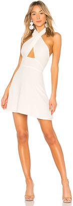 by the way. Ember Halter Fit & Flare Dress