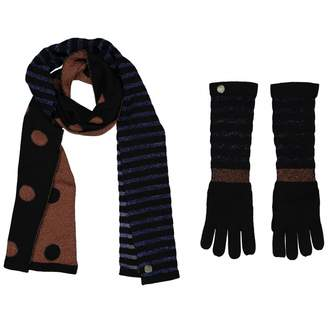 Marc by Marc Jacobs Black Wool Gloves