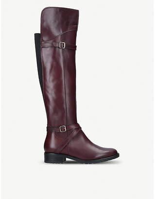 Carvela Comfort Viv leather knee boots