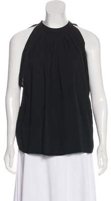 Helmut Lang Ruched Sleeveless Top w/ Tags