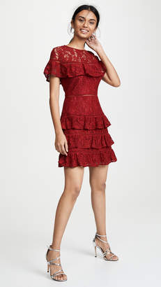 BB Dakota Aphrodite Ruffle Dress