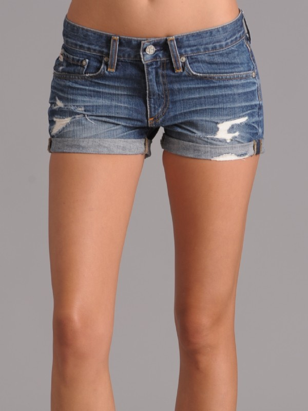 AG Jeans Pixie Roll Up Short
