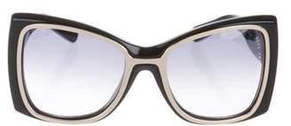 Reed Krakoff Oversize Square Sunglasses