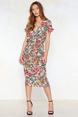Nasty Gal Where Did Our Love Grow Floral Dress