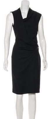 Helmut Lang Sleeveless Midi Dress