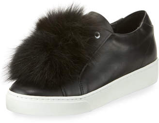 Sabrina Here/Now Fur Pompom Skate Sneakers
