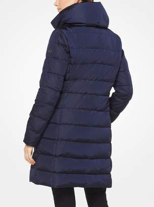 MICHAEL Michael Kors Quilted-Nylon Down Coat