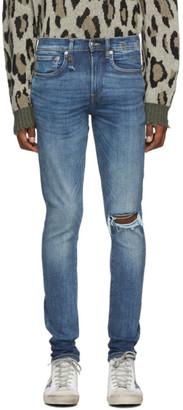 R 13 Blue Sid Skinny Jeans