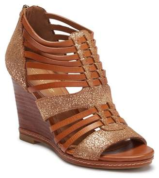 Trask Sammi Leather Wedge Sandal
