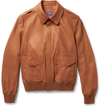 Ralph Lauren Purple Label Henfield Leather Jacket