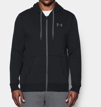 Under Armour Men's UA Rival Fleece Fitted Full Zip Hoodie