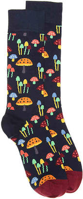 Happy Socks Mushroom Crew Socks - Men's