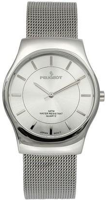 Peugeot Men's Mesh Strap Watch