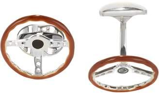 Deakin & Francis Men's Steering Wheel Cufflinks