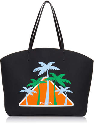 Canapa Tote with Palm Trees