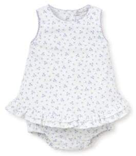 Kissy Kissy Baby's Dream Ruffled Cotton Top and Bloomers Set