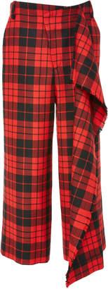 Monse Trouser With Flare & Fringe