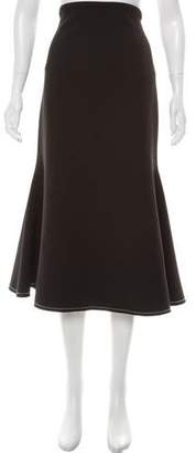 Ellery Lightweight Midi Skirt