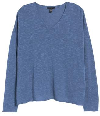 Eileen Fisher Blue Petite Sweaters On Sale Shopstyle